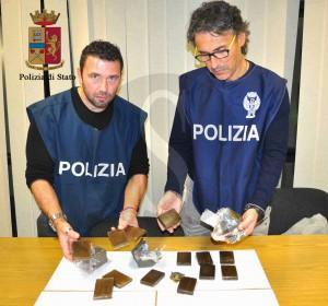 Polizia Ragusa Hashish tigharsi (1)