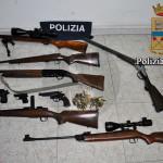 #Vittoria. Sequestrate pistole e fucili a un incensurato sessantenne