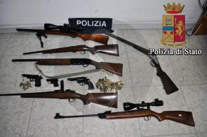Polizia Ragusa Vittoria armi
