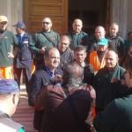 #Barcellona. Stipendi non pagati, protestano i lavoratori della Dusty