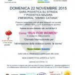 #Mazara del Vallo. Run for women, una corsa contro la violenza sulle donne