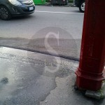 #Messina. Nelle case manca l'acqua, ma si spreca sui marciapiedi