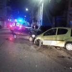 #Torregrotta. Violento scontro tra due auto, tre i feriti