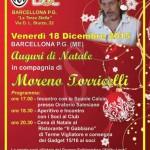 #Barcellona. Il 18 dicembre Moreno Torricelli al Club Juventus Doc La Terza Stella