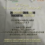 """#Messina. Al via la III edizione del torneo """"In campo per la solidarietà"""""""