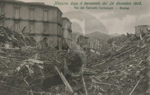 Messina, terremoto, case intatte
