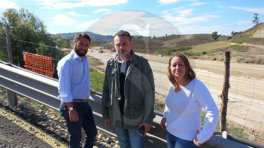 Caltanissetta slittano ancora i lavori per la bretella for Lavori parlamentari