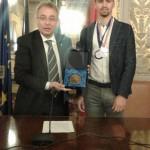 #Pattinaggio. Il campione Roberto Fiorito premiato all'ARS