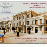 #Messina. Il Maurolico partecipa alla Notte Nazionale del Liceo Classico
