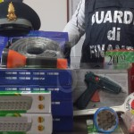 #Messina. Guardia di Finanza: maxi sequestro in un negozio del centro