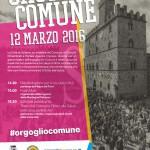 #Caltanissetta. Il sindaco di Niscemi alla manifestazione Orgoglio Comune