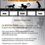 """#Messina. Proiezione de """"La nostra terra"""" al cineforum Addiopizzo"""