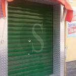 #Barcellona. Colpi di fucile contro la saracinesca di un negozio di via Garibaldi
