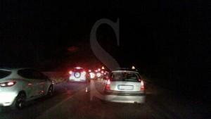Fila in autostrada per Pasquetta
