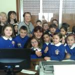 #Barcellona. Gli alunni della scuola elementare di Acquacalda in visita a Palazzo Longano
