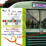 #Messina. Bibliobus davanti la chiesa di San Michele