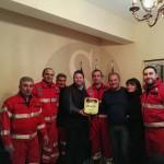 #Barcellona. Consegnato un defibrillatore al Club Radio Cb