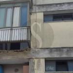 #Messina. Crolla un balcone al Villaggio Aldisio, ferito un 48enne