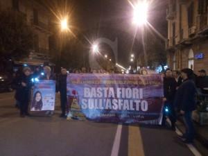 Corteo per Rebecca 8-4-2016 a Sicilians