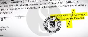 L'atto firmato dall'architetto Giuffrè