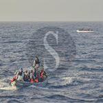 #Migranti. La Marina Militare soccorre due gommoni