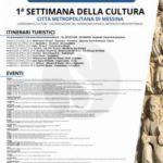 """#Messina. Al via la Settimana della cultura """"Trinacria sconosciuta"""""""