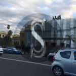#Messina. Palazzo Piacentini: imprenditore minaccia di buttarsi LE FOTO