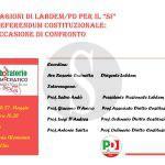#Messina. Confronto di LabDem sul referendum