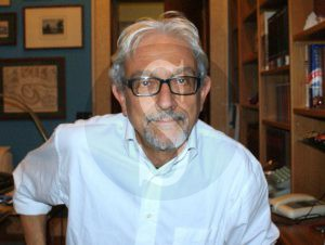 Peppe Fera, docente di Urbanistica all'Università di Reggio Calabria