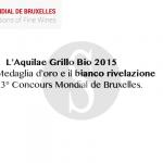 #Sicilia. Bianchi doc: il campione del mondo 2016 è l'Aquilae Grillo Bio di Cva Canicattì