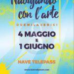 #Messina. Navigando con l'arte: Il liceo artistico Basile sulla nave gialla Telepass