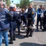 #Messina. Governo assente, sit-in della Polizia Municipale