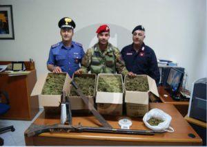 Carabinieri_Nebrodi_materiale_sequestrato