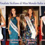 #MissMondoItalia. Quattro siciliane in finale a Gallipoli