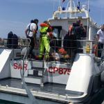 #Milazzo. Esercitazione in mare della Guardia Costiera
