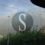 #Carini. Incendio sulla A20, traffico in tilt