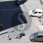 #Barcellona. Incidente tra auto e moto in via Marconi LE FOTO