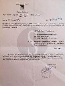 La lettera dell'assessore Croce ai deputati 5 Stelle