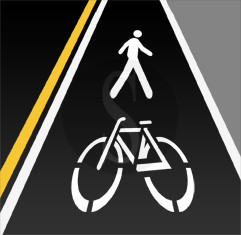 pista ciclopedonale