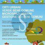 #Messina. Beni comuni: riqualificazione spazi urbani