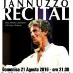 #Messina. Recital di Gianfranco Jannuzzo in Fiera
