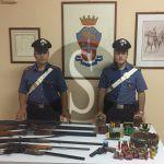 #Messina. Armi clandestine in casa, arrestati padre e figlio