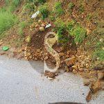 #Messina. A rischio frana la strada di San Giovannello