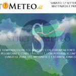 #Meteo. Sabato possibile guasto e fenomeni piovosi localizzati