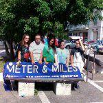 #Messina. La Meter&Miles ripulisce aiuola a piazza del Popolo
