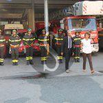 #Messina. Il prefetto Ferrandino in visita ai Vigili del Fuoco