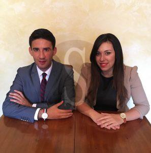Alessio Calderone e Rosilda Salvo