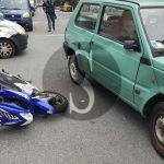 #Milazzo. Incidente tra auto e scooter, ferito 16enne