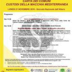 #Messina. Carta dei comuni custodi della macchia mediterranea