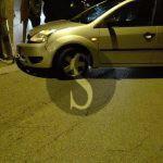 #Barcellona. Anziano perde il controllo dell'auto e si schianta contro un palo